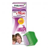Paranix Spray Anti Pidocchi con Pettine 100ml Promo