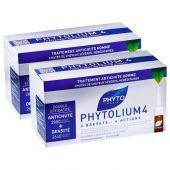 Phyto Phytolium 4 Uomo Trattamento Anticaduta Pacco Doppio