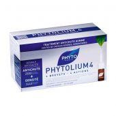 Phyto Phytolium 4 Trattamento Anticaduta Cronica Capelli 12 Fiale