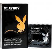 Playboy Sensitive Lubrificati Preservativi Super Sensibili 6 Pezzi