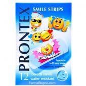 Prontex Smile Strips Cerotti Sterili Bambini 12 Pezzi