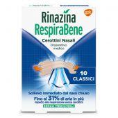 Rinazina RespiraBene 10 Cerotti Nasali Classici