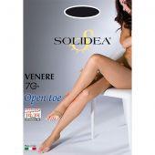 Solidea Calze Venere 70 Denari Open Toe