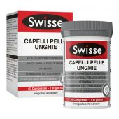 Swisse Capelli Pelle Unghie Integratore di Biotina 60 Compresse