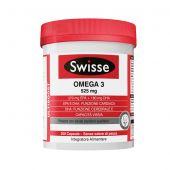 Swisse Omega 3 Integratore 525mg 200 Capsule
