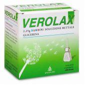Verolax 2.25g Bambini 6 Microclismi