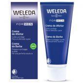 weleda for men crema schiuma da barba uomo 75ml