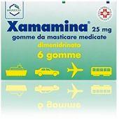 Xamamina 25mg 6 Gomme da Masticare Medicate