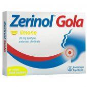 Zerinol Gola Limone 20mg 18 Pastiglie