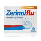 Zerinolflu 20 Compresse Effervescenti con Vitamina C