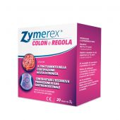 Zymerex Colon e Regola Integratore Gastrointestinale 20 Buste